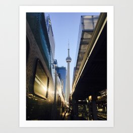 Tower in the 6 @ Union Art Print