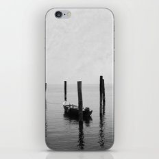 Boat on the lake iPhone & iPod Skin