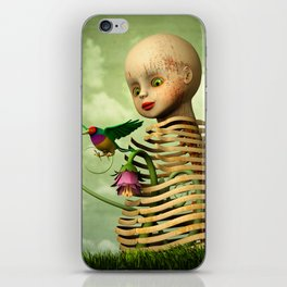 The Open Cage iPhone Skin