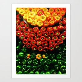 Bell Pepper Display Art Print