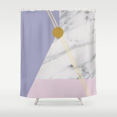 Minimal Complexity v.4 Shower Curtain