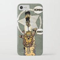 bombs away iPhone & iPod Cases featuring Bombs Away  by Greathouse