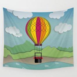 Balloon Aeronautics Sea & Sky Wall Tapestry