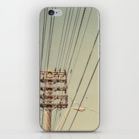 the wire iPhone & iPod Skins featuring wire by erinreidphoto