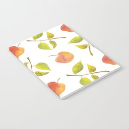 Apples and leaves Notebook