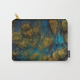 Molten - Abstract Pixel Art Carry-All Pouch