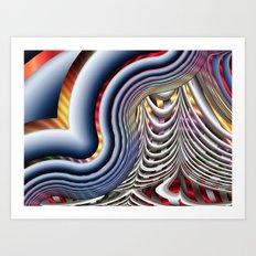 The Final Curtain Art Print
