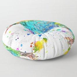 Kiwi Bird Floor Pillow