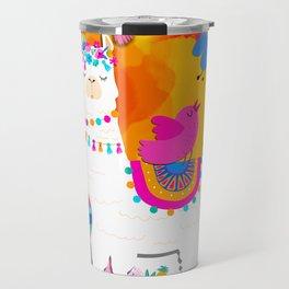 Fiesta Llama Travel Mug