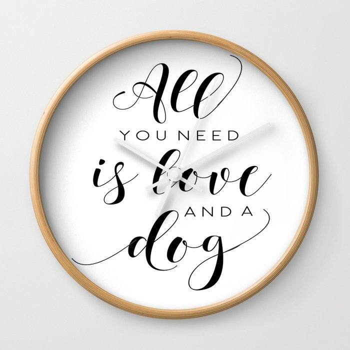 All You Need Is Love Beetles Song Quote Digital Wall For Gift and Office  Decor Wall Clock by tomoogorelica