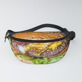 Delicious Hamburger Fanny Pack