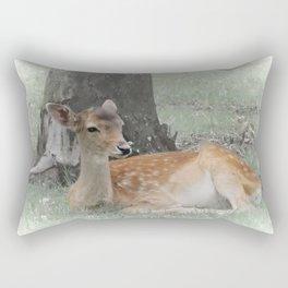 Forest deer Rectangular Pillow