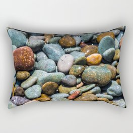 Pebble beach 3 Rectangular Pillow