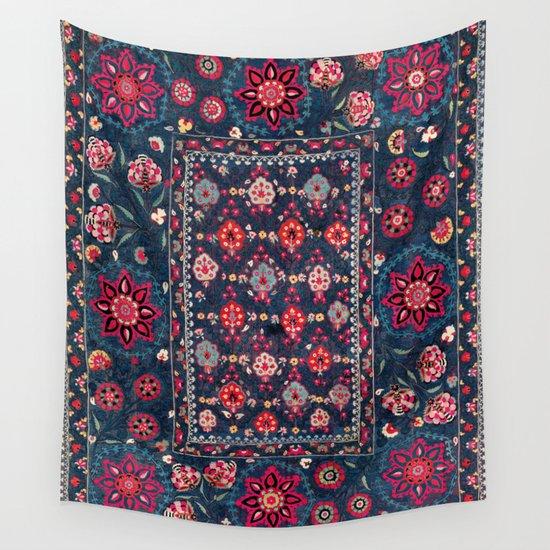 Lakai Suzani Shakhrisyabz Uzbek Embroidery Print by vickybragomitchell