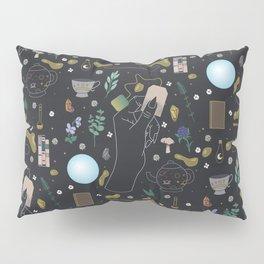 Tea Witch Starter Kit - Illustration Pillow Sham