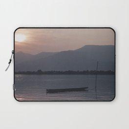 Sunset at Mekong Laptop Sleeve
