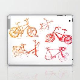 summer bikes Laptop & iPad Skin