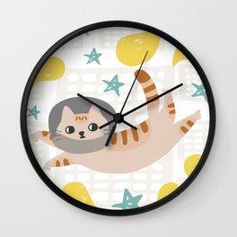 Simba the cat Wall Clock
