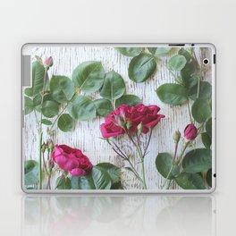 Vintage Red Rose Laptop & iPad Skin