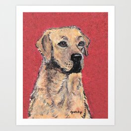 Labrador Retriever Portrait Art Print
