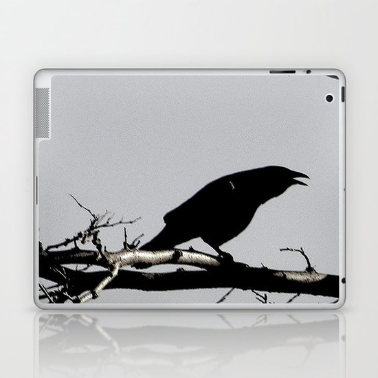 """""""and all i loved, i loved alone"""" Laptop & iPad Skin"""