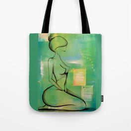 Young Queens Prayer Tote Bag