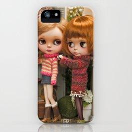 Erregiro Blythe Custom Doll Play Garden iPhone Case