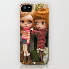 Erregiro Blythe Custom Doll Play Garden iPhone Case