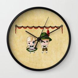 German Chibis Wall Clock