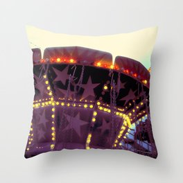 Or Was It a Dream (II)? ~ vintage carnival Throw Pillow