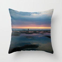 Cannon Beach Oregon Coast 4 Throw Pillow