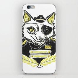 Sea Wolf iPhone Skin