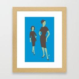 a pair of ladies Framed Art Print