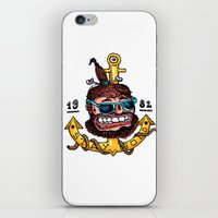 stay gold iPhone & iPod Skins featuring Stay Gold by Chris Laistler