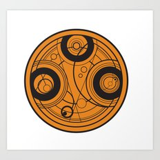 The Seal of Rassilon Art Print