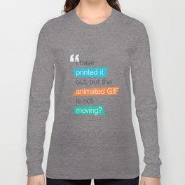 animated GIF  Long Sleeve T-shirt