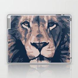 Face to Lion Laptop & iPad Skin