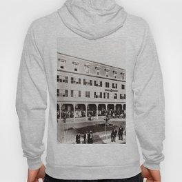 1880 Riverside Hotel, East Providence, Rhode Island Vintage Photograph Hoody