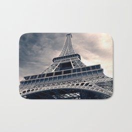 Towering Eiffel Tower Bath Mat