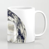 globe Mugs featuring Watercolor Globe by Rose Etiennette