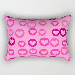 Love Hearts Rectangular Pillow