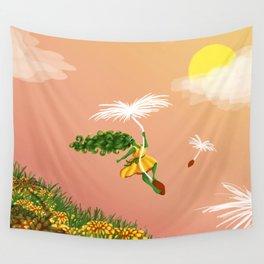 Dandelion Adventure Wall Tapestry