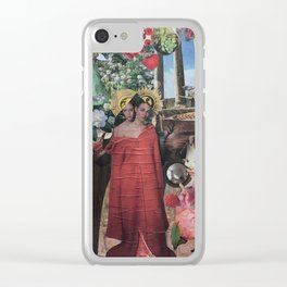 celestial sisters Clear iPhone Case