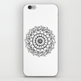 Quill Mandala iPhone Skin