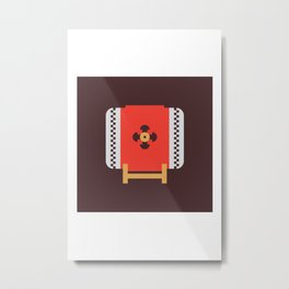 Japan Taiko Drum Metal Print