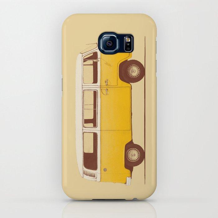 van - yellow iphone case
