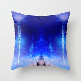 Perseids Throw Pillow