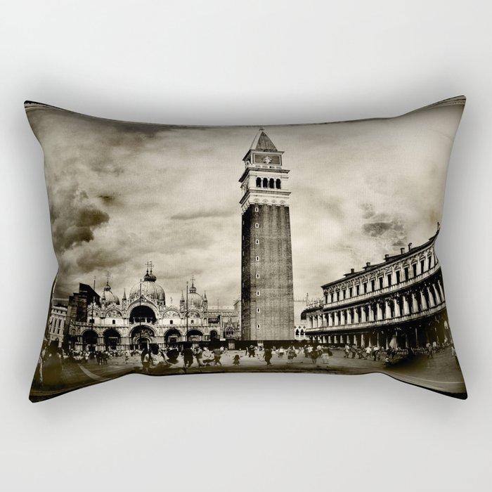 Vintage Venice Rectangular Pillow