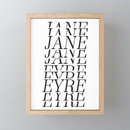 Jane Eyre Framed Mini Art Print