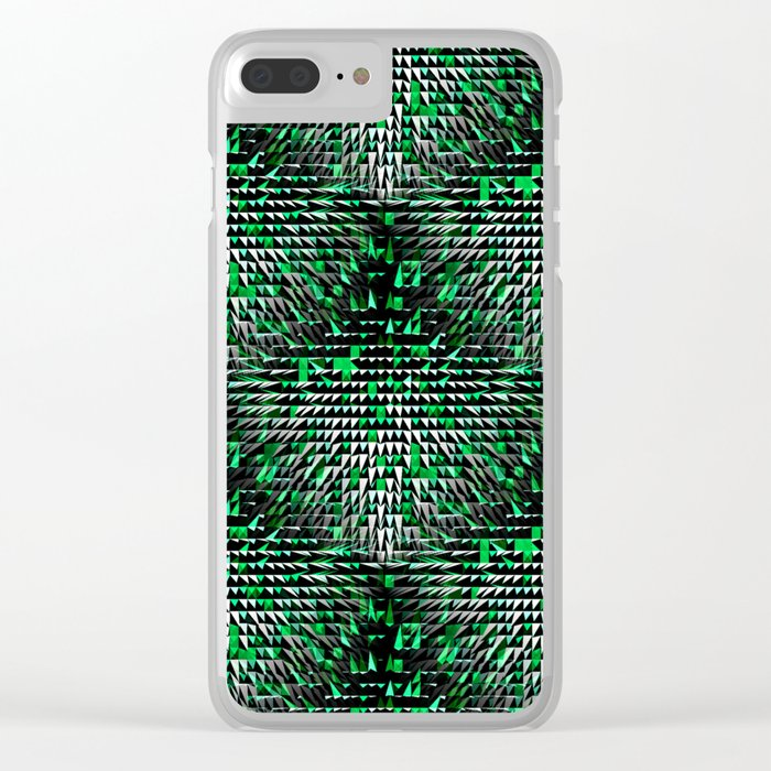 The Snowy Forest.... Clear iPhone Case